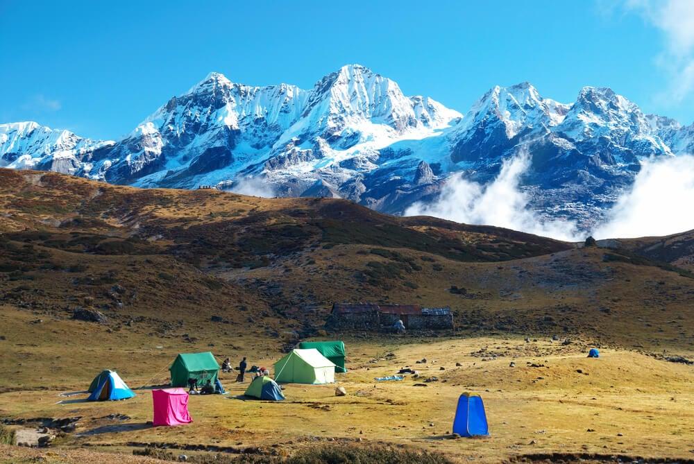 Vista del Kangchenjunga