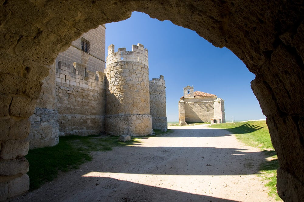 Alrededores de la fortaleza