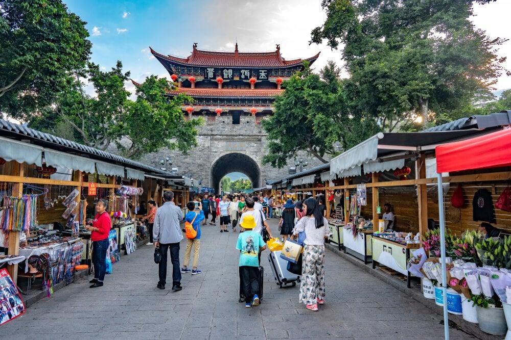 Mercado Dali, uno de los mercados y mercadillos en China más famosos