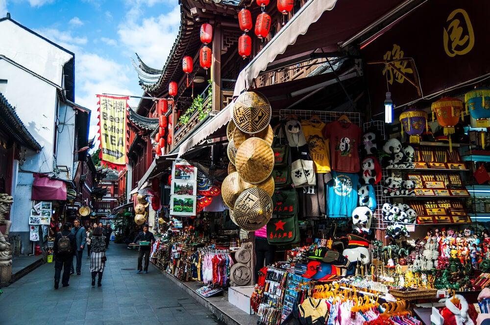 Mercado Yuyuán en Shanghái