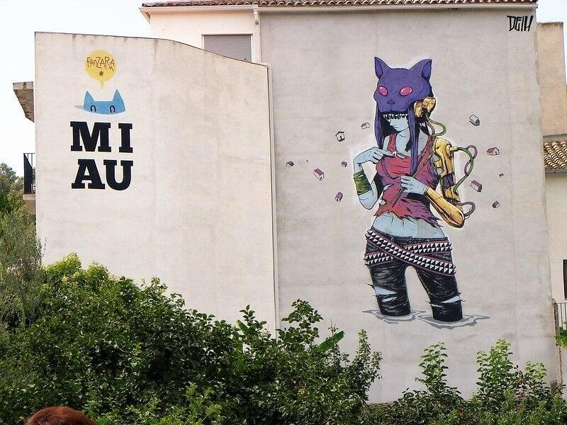 Fanzara en Castellón y su fabuloso arte urbano