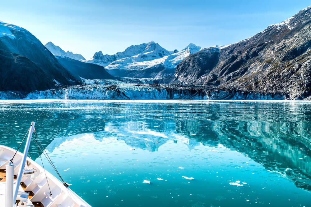 Paisaje de la Reserva Glacier Bay