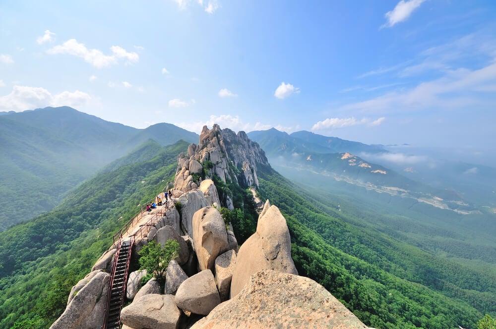 Un día en el Parque Nacional Seoraksan