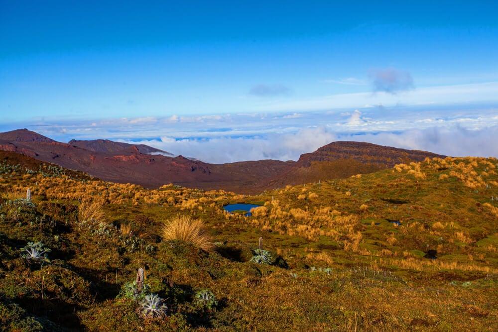 Paisaje del Parque Nacional Puracé