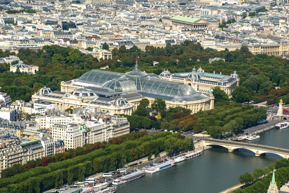 El Petit Palais y el Grand Palais de París