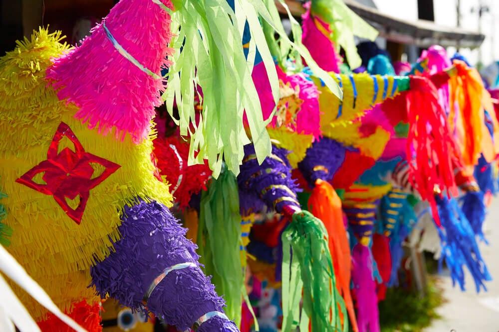 Piñata tradicional de México