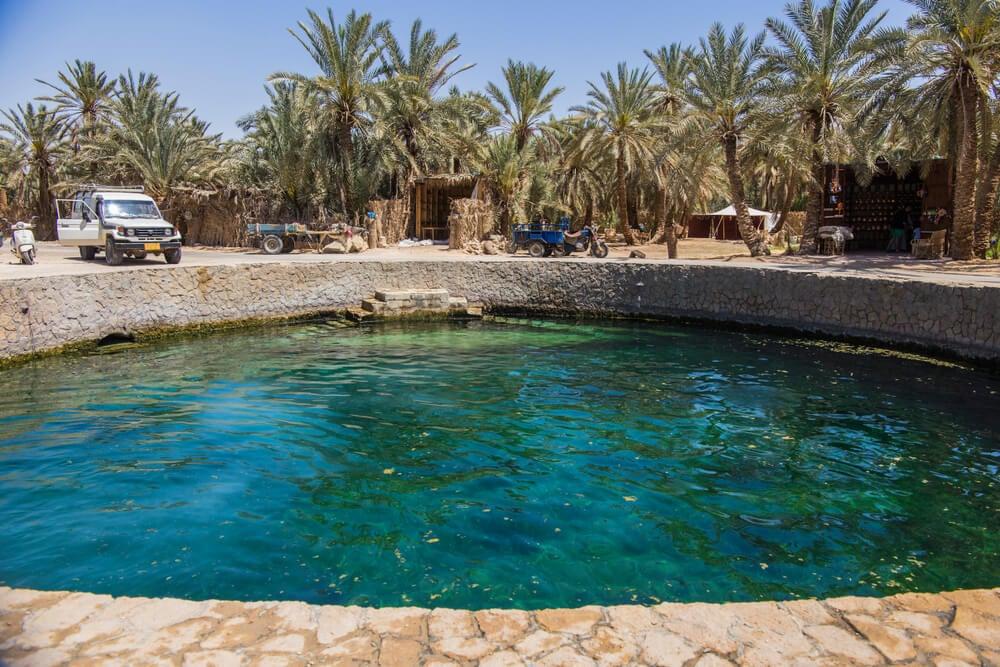 Piscina de Cleopatra en Siwa