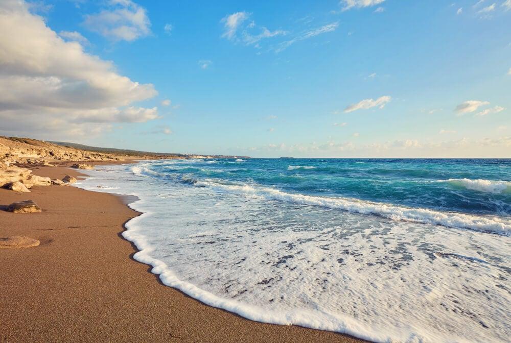 Playa en Pafos