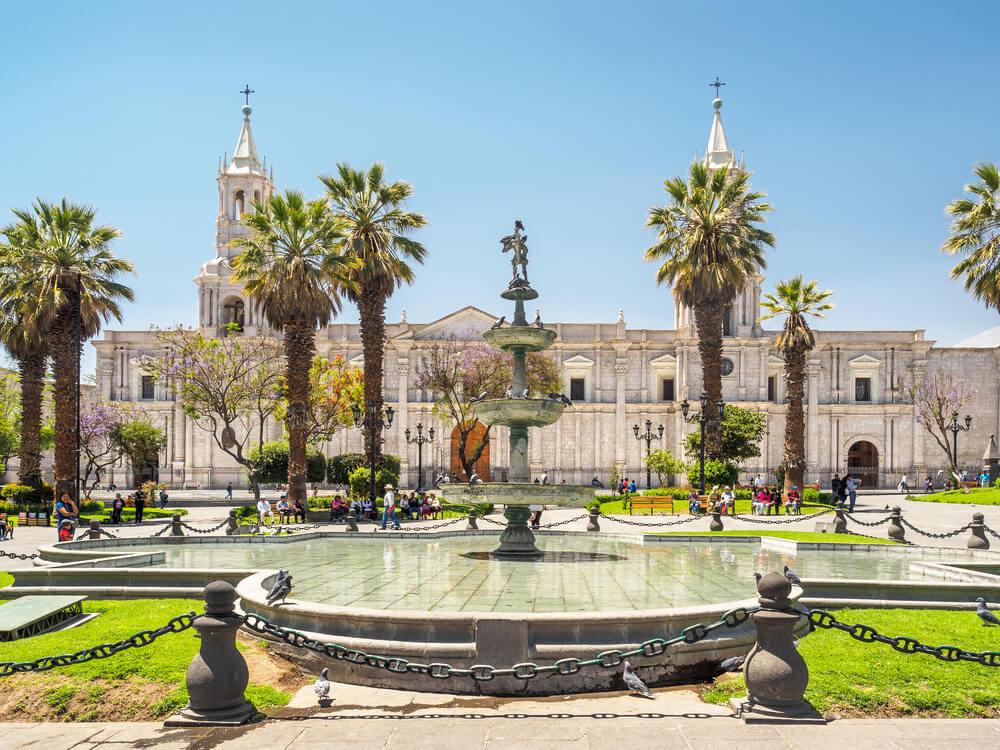 La plaza de Armas de Arequipa: el origen de una ciudad