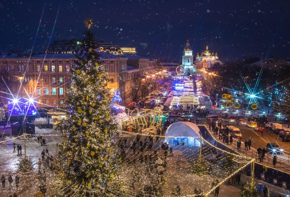Plaza de Sofía en Kiev