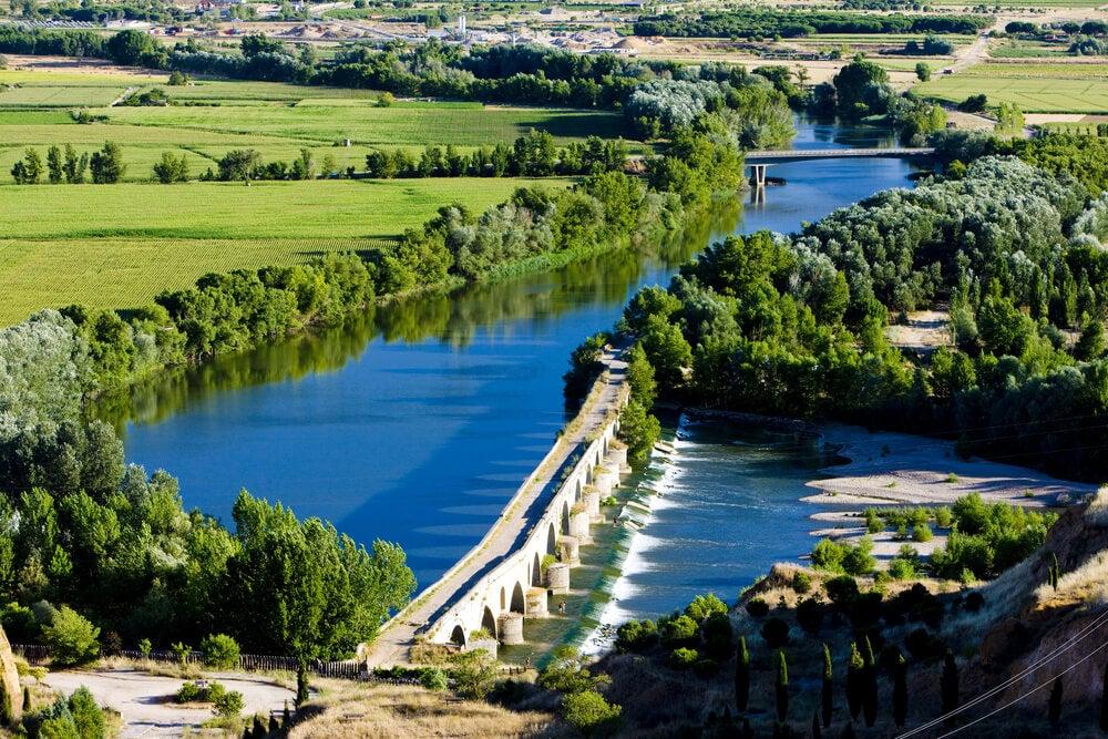 Vista del puente romano