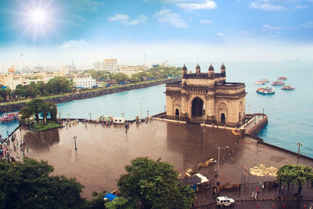 Puerta de la India en Mumbai