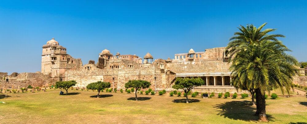 Vista del palacio Rana Kumbha