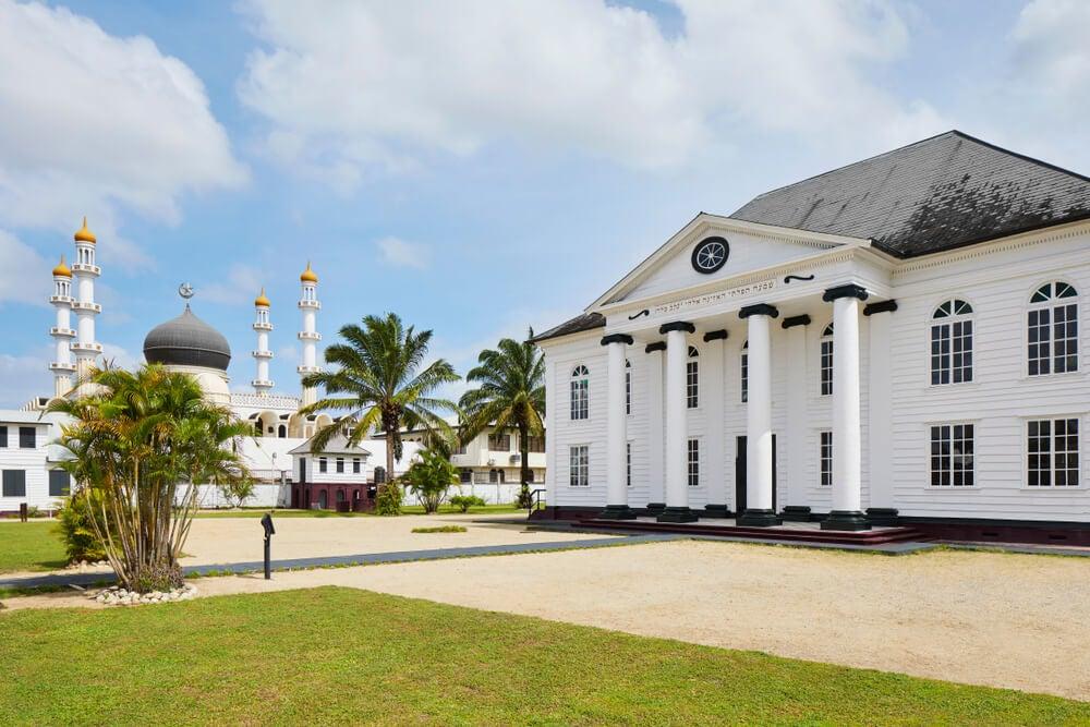 sinagoga Neve Shalom y mezquita Keizerstraat