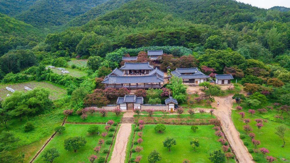 Vist aérea del templo Haeinsa