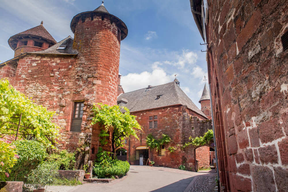 Torre en Collonges-la-Rouge