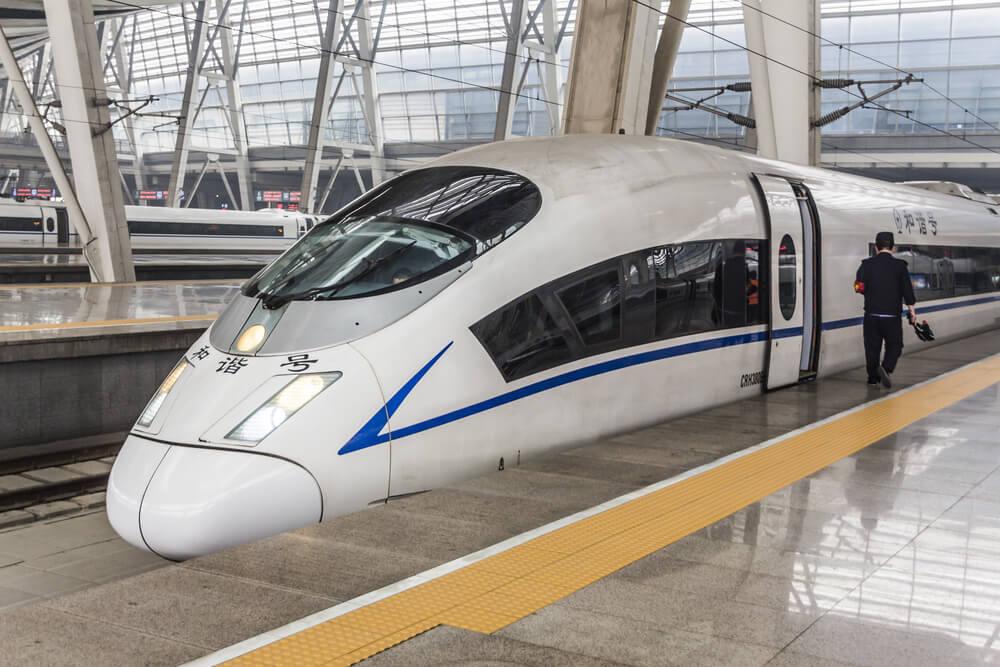 Tren para moverse por China