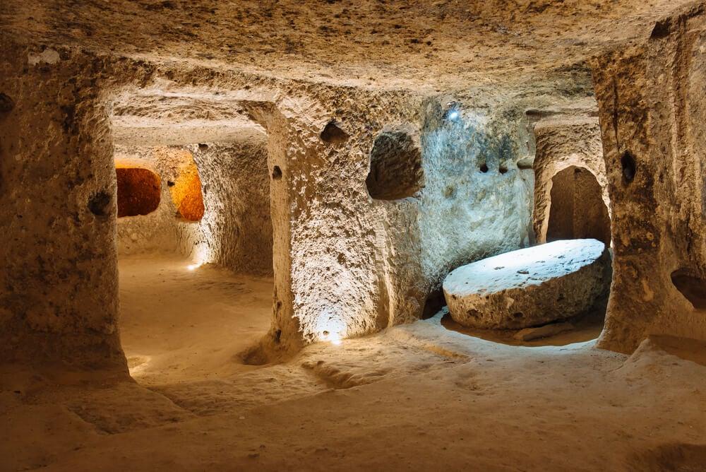 Túnel en Derinkuyu