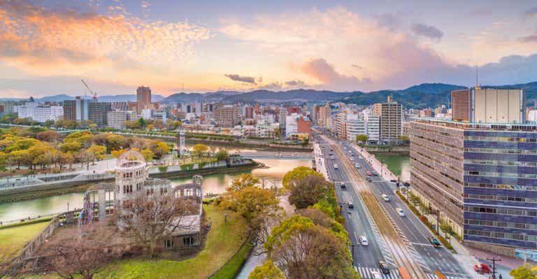 Hiroshima, ciudad que vio la peor cara de la humanidad