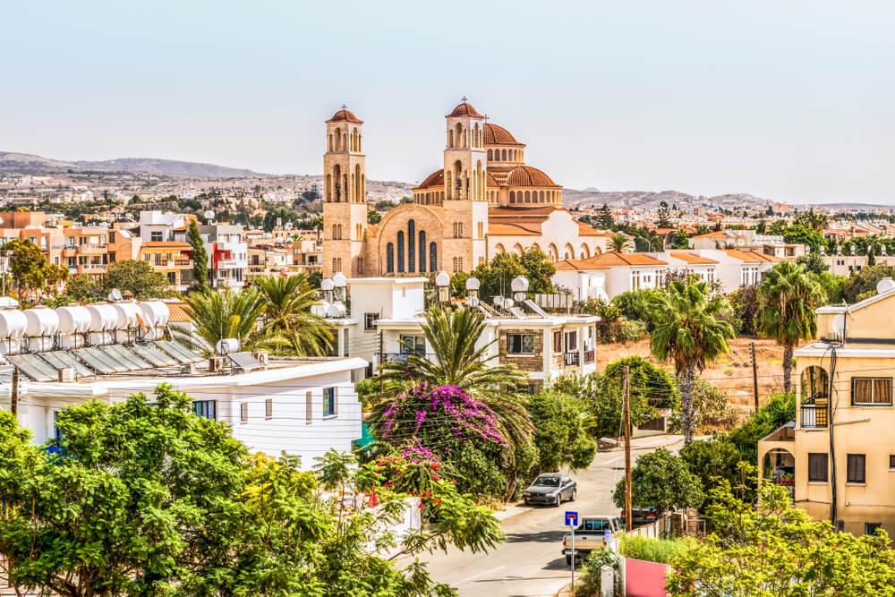 Vista de Pafos