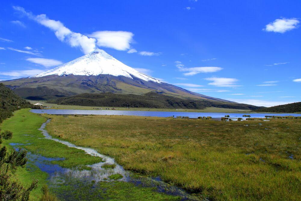 Cotopaxi, un fabuloso parque natural de Ecuador
