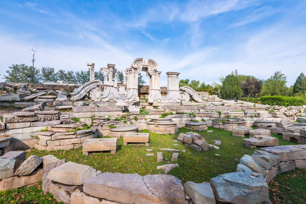 Ruinas del Antiguo Palacio de Verano