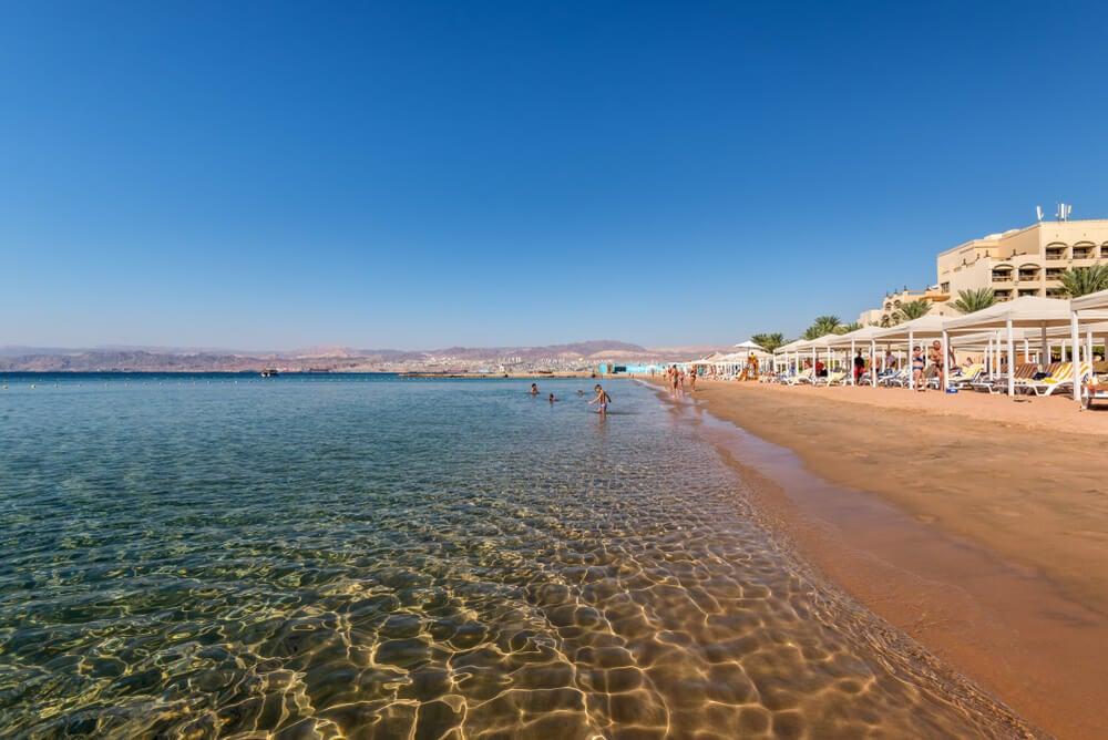 Playa en Aqaba
