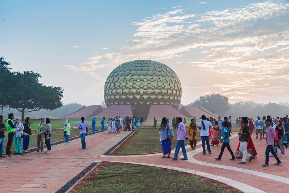 Auroville, uno de lospueblos más extraños del mundo