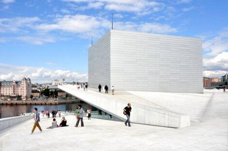 Azotea de la Ópera de Oslo