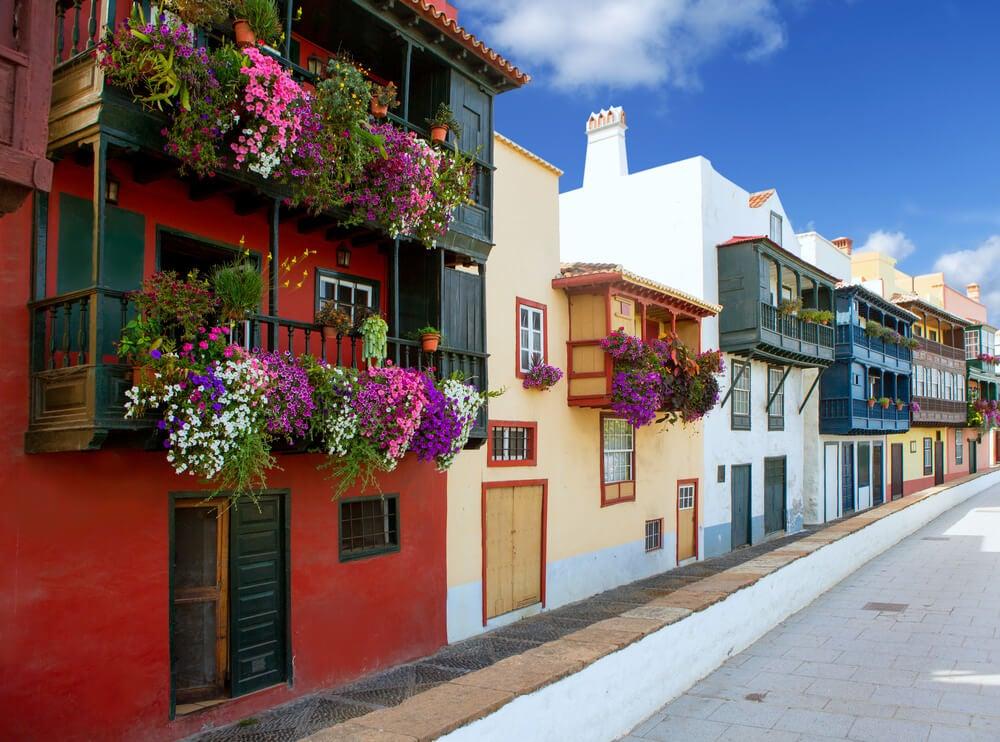 Balcones de Santa Cruz de La Palma