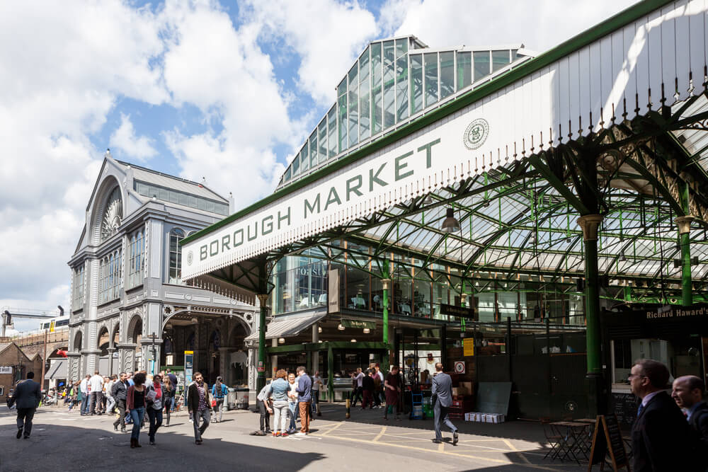 Entrada a Borough Market