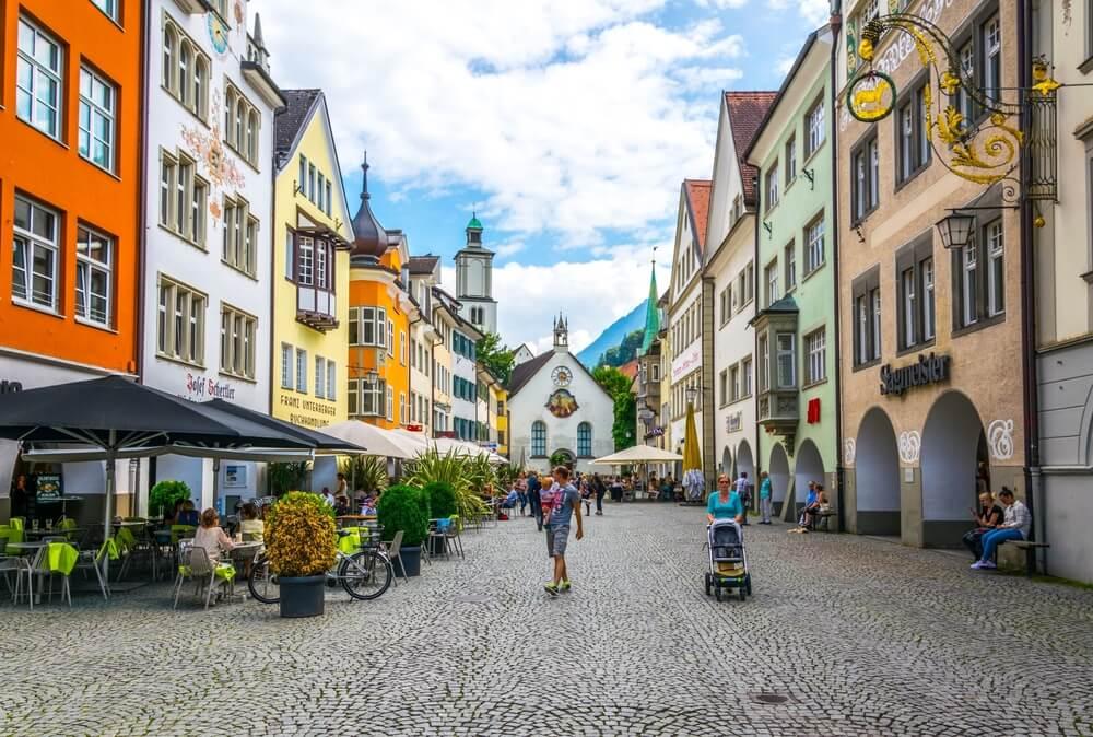 Centro urbano de Feldkirch
