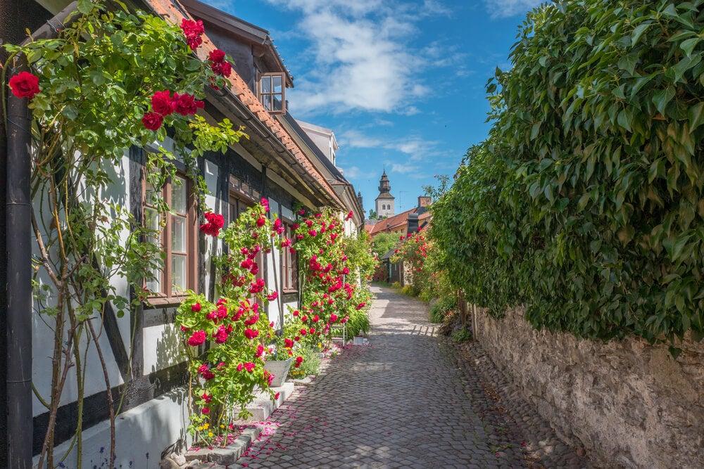 Descubre la ciudad amurallada de Visby