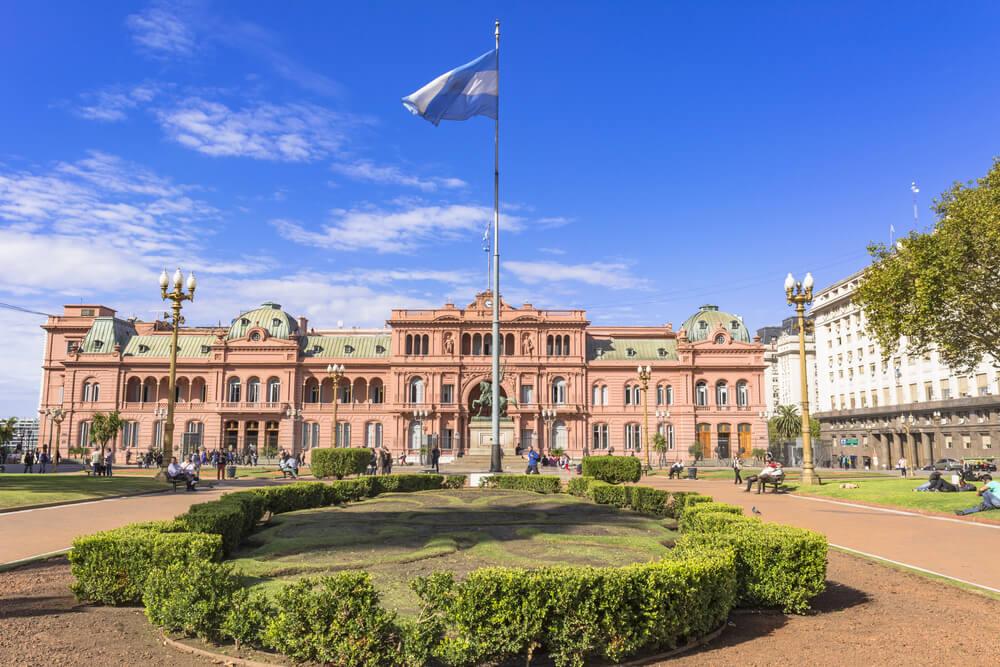 Casa Rosada en Argentina