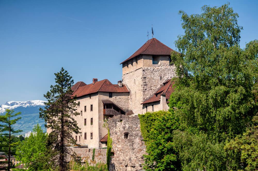 Castillo de Schattenburg en Feldkirch
