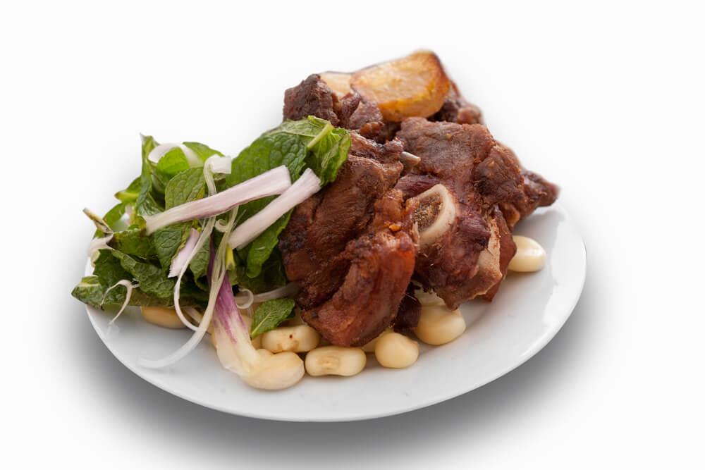 Chicharrón, uno de los platos de la gastronomía cuzqueña
