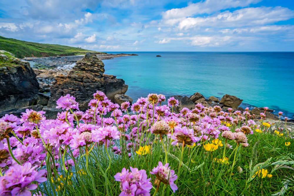 Costa de Cornualles desde el England Coast Path