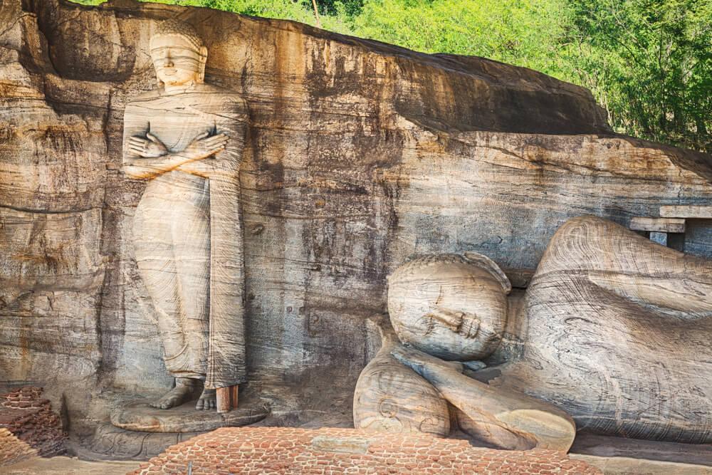 Gal Vihara en Sri Lanka: un templo budista increíble
