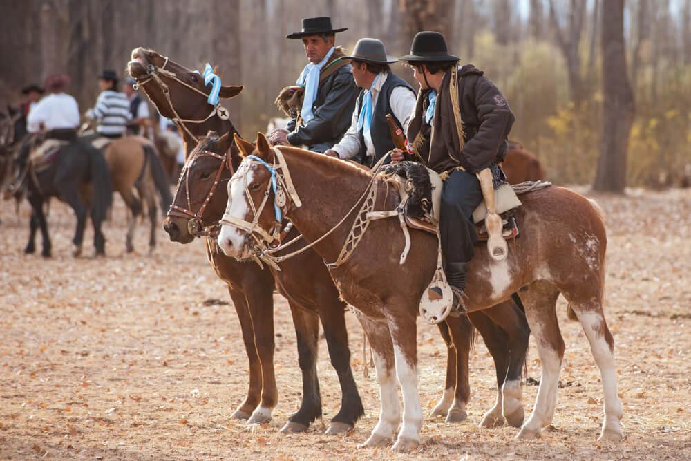 Gauchos en Mendoza