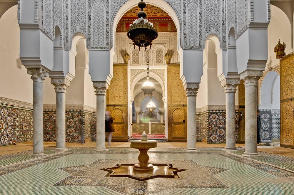 Mausoleo deMulay Ismail en Mequínez
