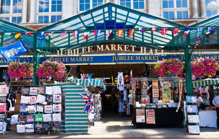 Los mercados de Londres más animados