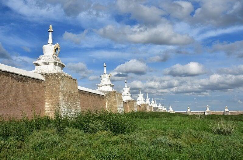 Monasterio cerca de Karakórum