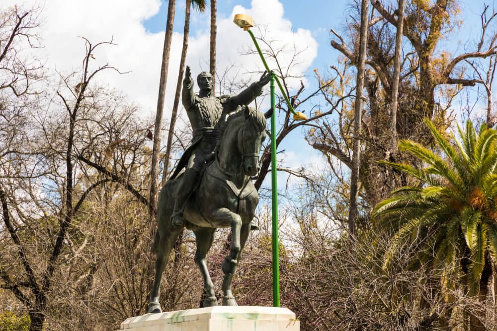 Monumento a Bolívar en Sevilla