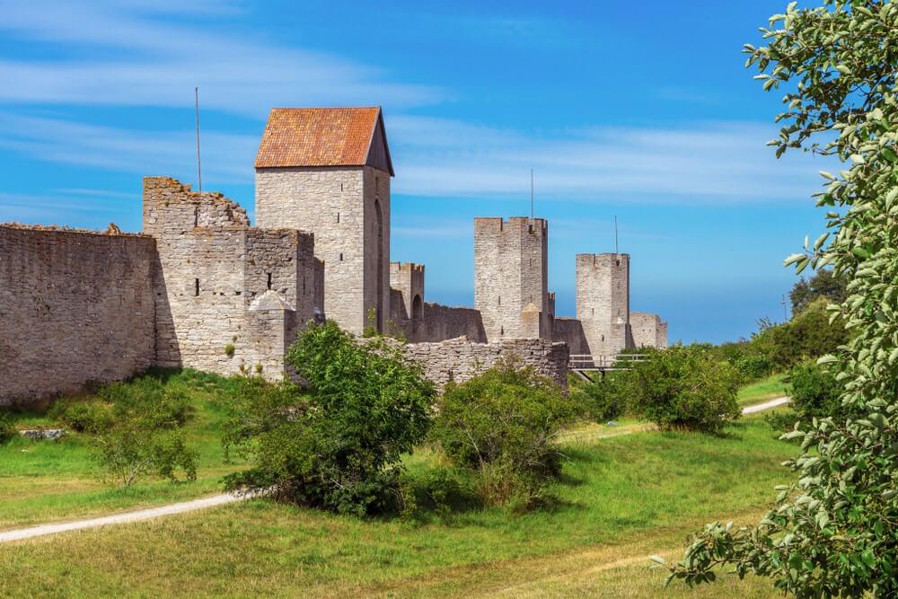 Muralla de Visby