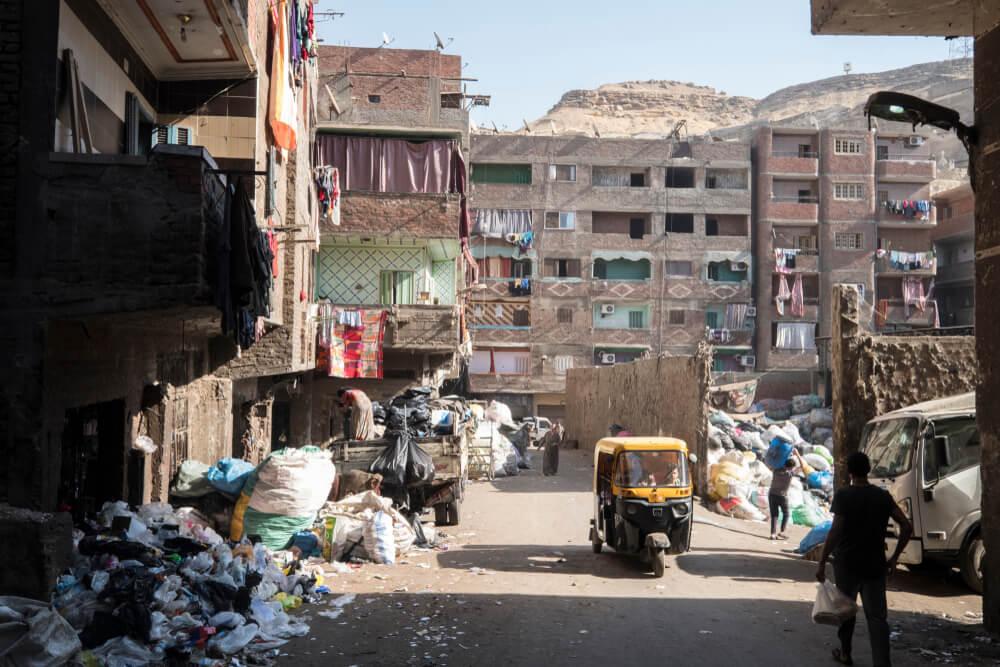 Basura en Manshiyat Nasser