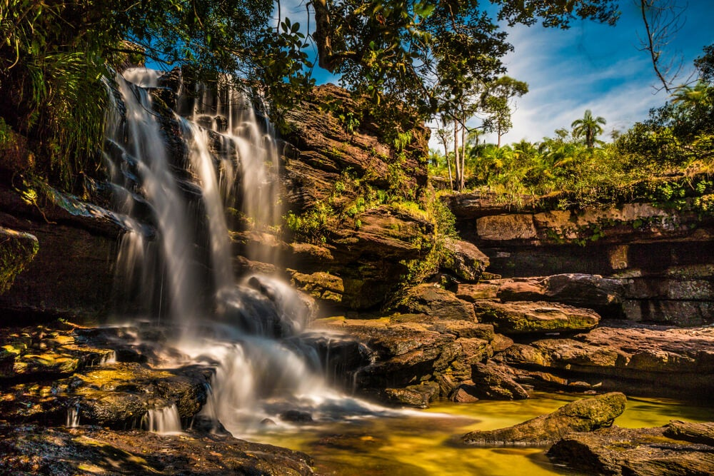 La sierra de la Macarena: encanto y belleza