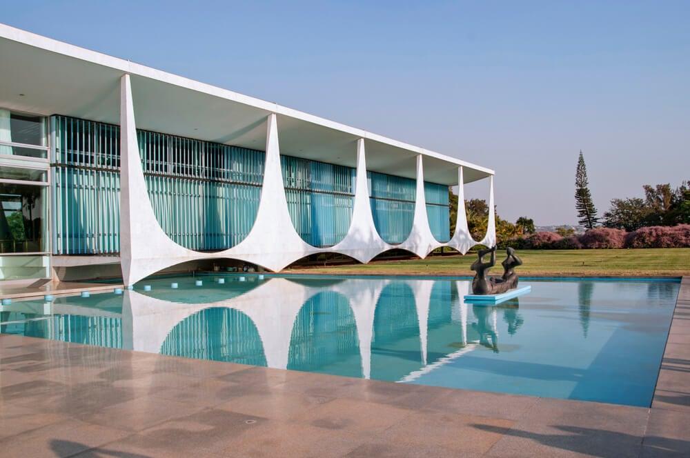 Palacio de Alvorada en Brasilia