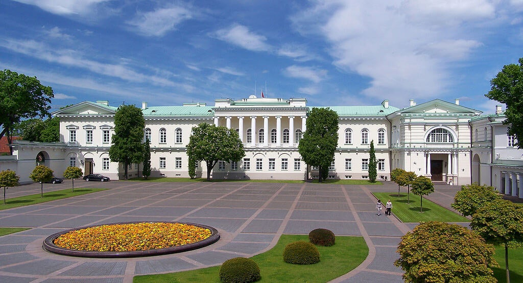 Palacio presidencial de Vilna
