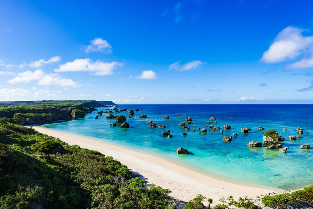 Playa en Okinawa