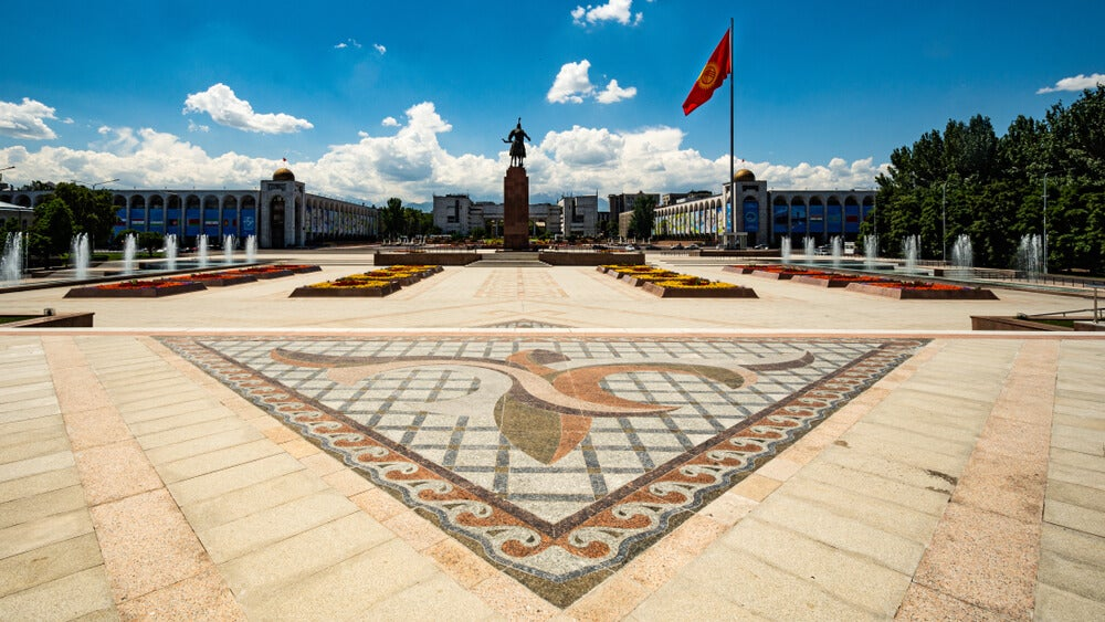 Plaza Ala-Too en Bishkek